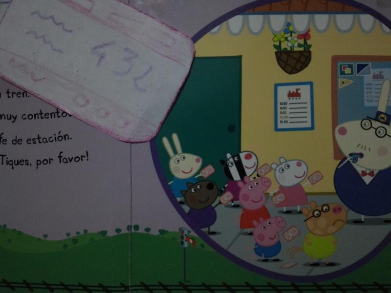 Peppa Pig cuento actividades 1