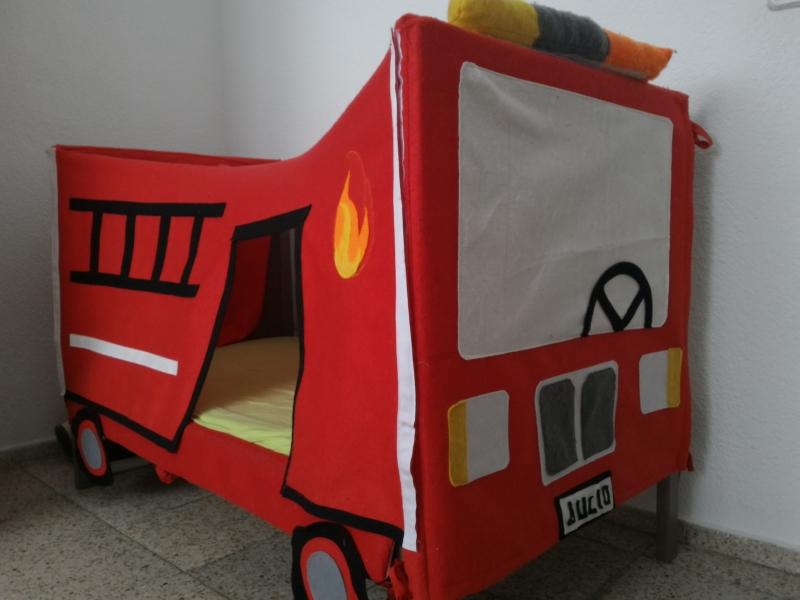 Camión de bomberos, Ikea hack de cuna Sundvik