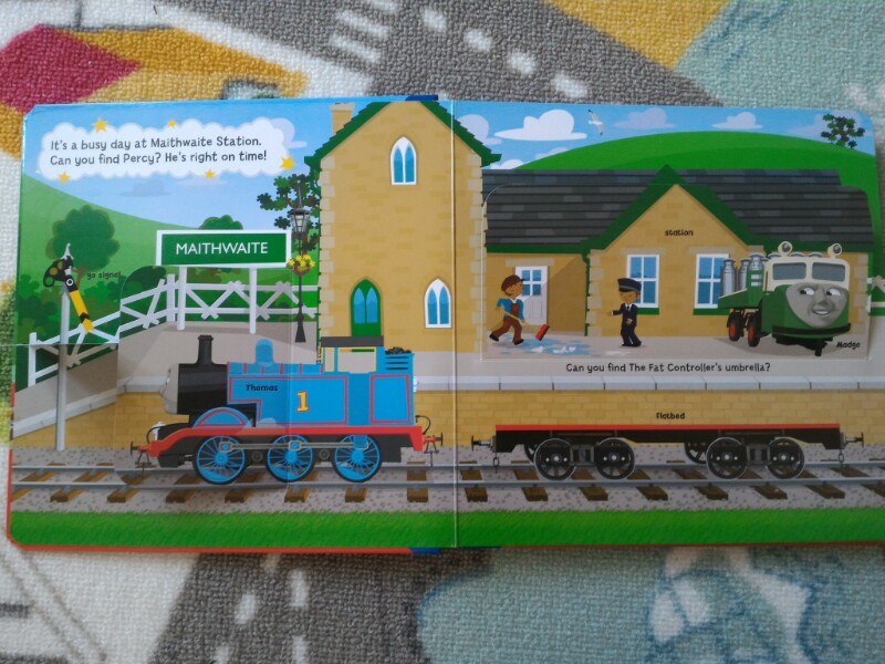 Thomas and friends flip book