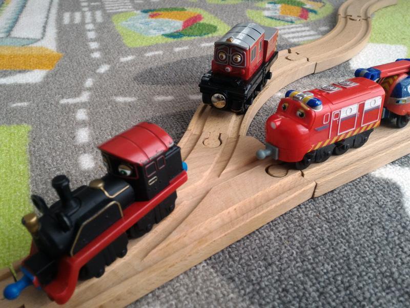 Comparativa entre trenes Chuggington