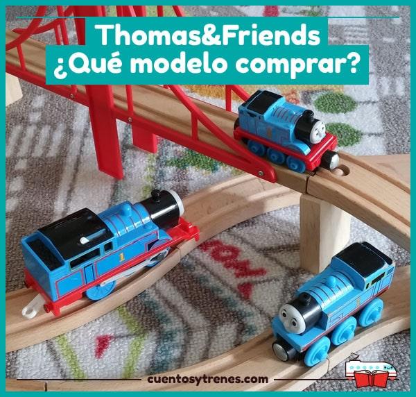 Qué modelo comprar de Thomas & Friends: Take-n-Play, Wooden Railway y Trackmaster