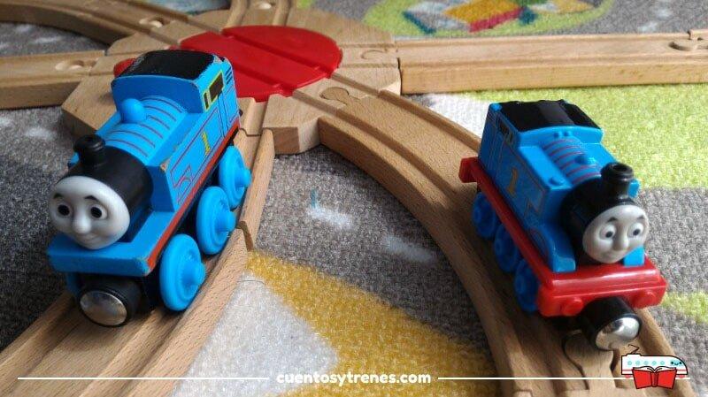 Diferencias entre los trenes de Thomas y sus amigos