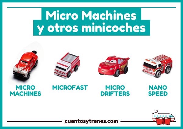 Micro Machines y otros coches parecidos