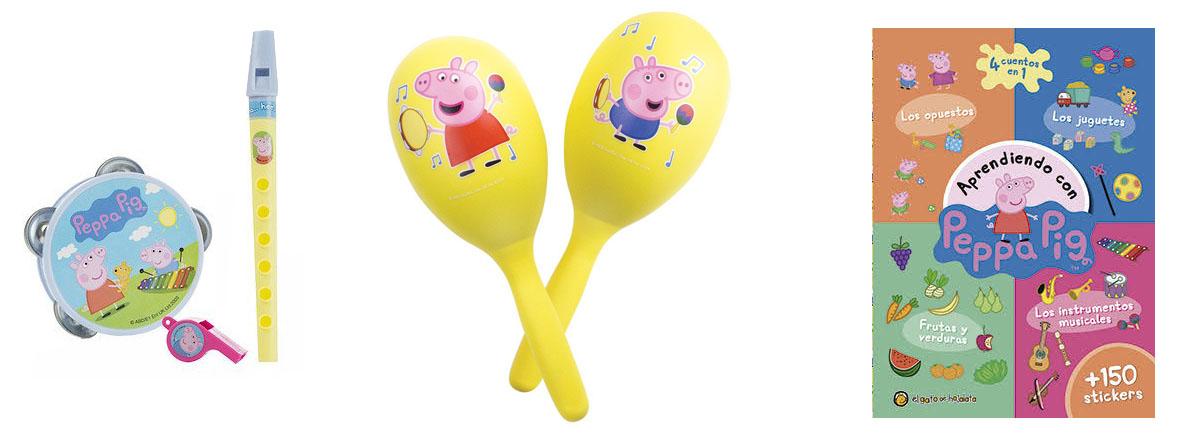 Instrumentos para niños de Peppa Pig