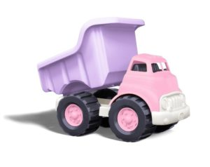 Camión volquete rosa para niñas de Green Toys