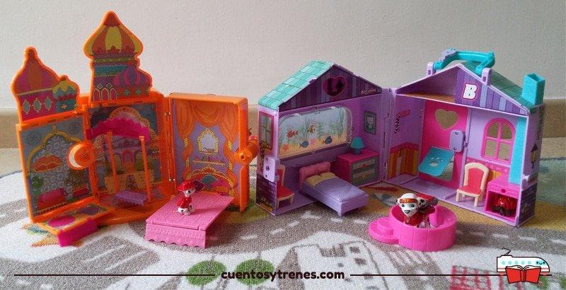 Casas maletín de juguete