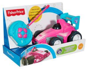 Coche teledirigido rosa para niñas