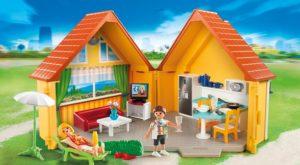 Casa portátil de campo de Playmobil