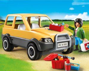 Coche de la veterinaria de Playmobil