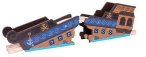 Puente pirata de Bigjigs Rail