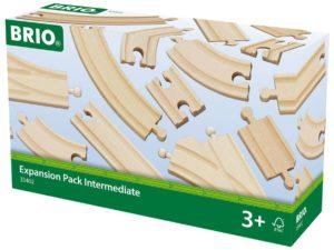 Set de expansión de vías de madera de Brio