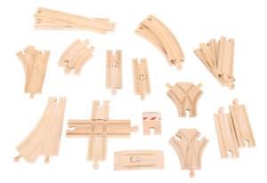 Set de expansión de vías de madera de Bigjigs Rail