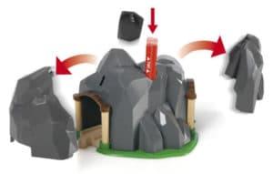 Túnel con dinamita de Brio