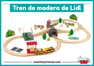 Circuito tren de madera Lidl Playtive