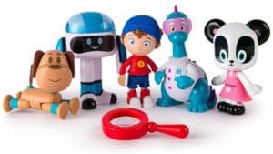 Pack con 5 muñecos de Noddy detective de juguetes