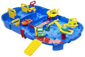 Circuito acuático para la playa