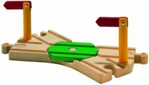 Cruce de vías de madera compatible con Ikea