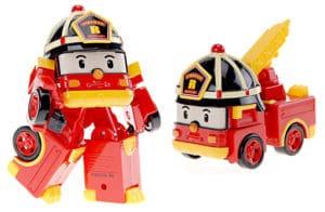 Roy el camión de bomberos Robot de Robocar Poli