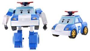 Juguete de Robocar Poli coche de polícia robot