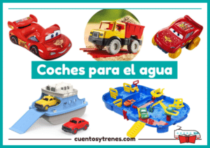 Juguetes de agua Coches para playa y piscina