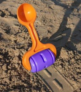 Rodillo de carretera para la arena de la playa