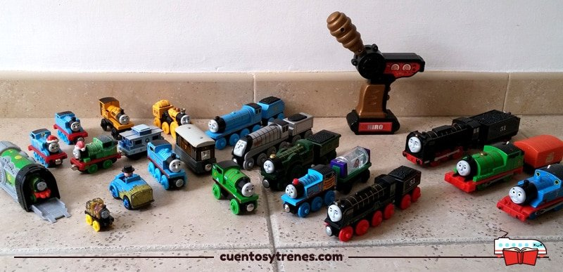 Nuestros trenes de Thomas & Friends