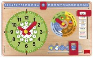 Calendario barato para niños Goula