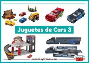Cars 3 Juguetes y personajes