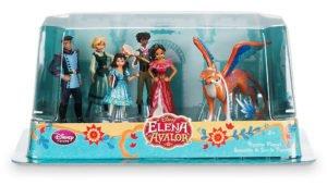 Muñecos de los personajes de Elena de Ávalor