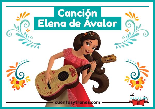 Letra de la canción de Elena de Ávalor en español