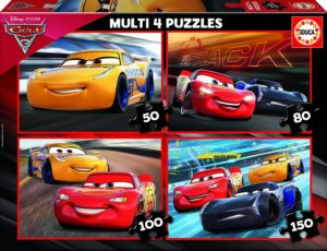 Puzzle progresivo Cars 3 Educa