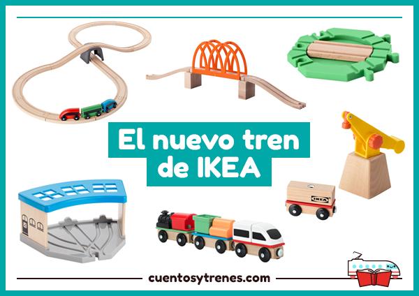 Y 3j5r4al Trenes Nuevo Tren Madera El De Ikeacuentos HE9D2I