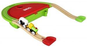 Tren de madera de viaje para bebés Brio