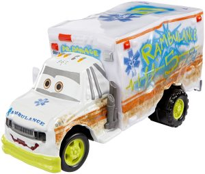 Doctor daño ambulancia de Cars 3