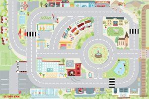 Alfombra infantil de carreteras Le Toy Van
