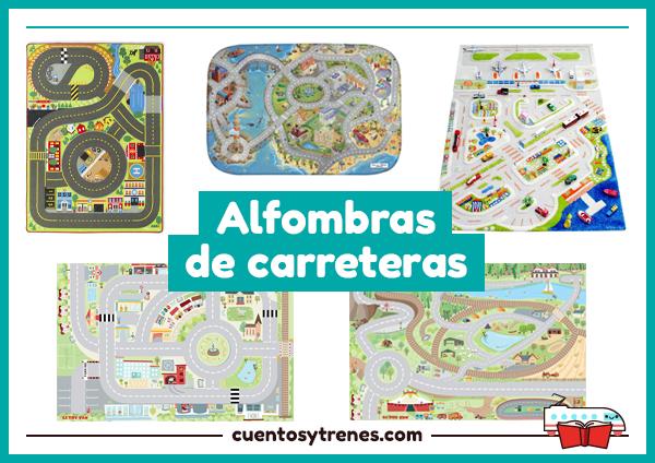 Alfombras infantiles de carreteras cuentos y trenes - Alfombra carretera ...