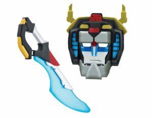 Disfraz: espada y máscara de Voltron