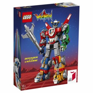 Juguete de Lego de Voltron