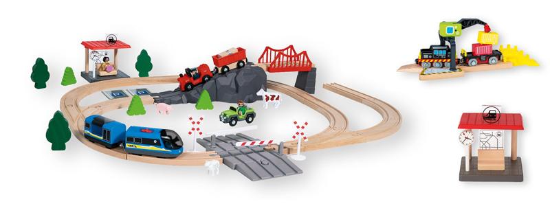 Nuevo tren de madera de Lidl